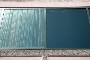 window cleaning Kansas City Commercial Glass Restoration