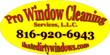 window cleaning Kansas City logo