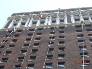 Kansas City commercial window cleaning