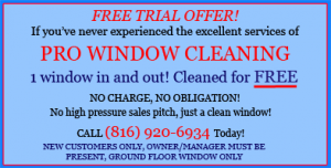 window cleaning Kansas City