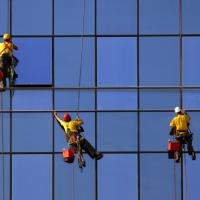 Why Do Skyscraper Window Washers in Kansas City Need to Wear Helmets?