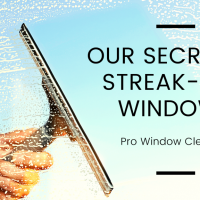 Our Secret to Streak Free Windows