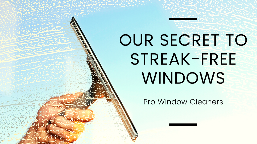 Our Secret to Streak-Free Windows from Window Washers in Kansas City